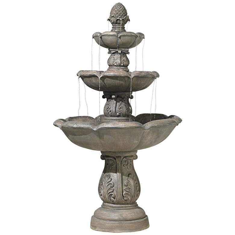 """Browning Three-Tier 65"""" High Traditional Fountain"""