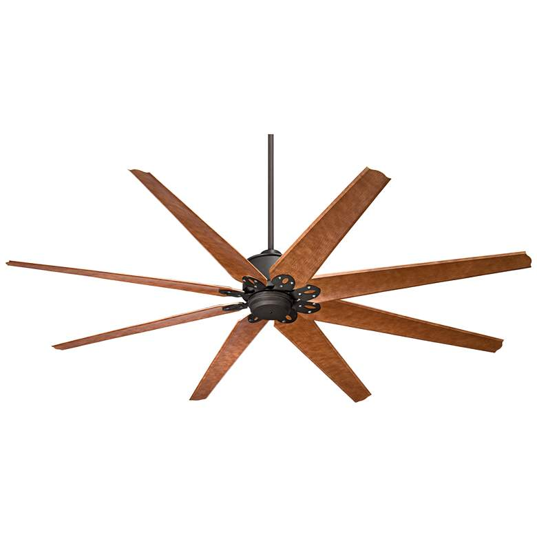 "72"" Predator English Bronze Large Outdoor Ceiling Fan"