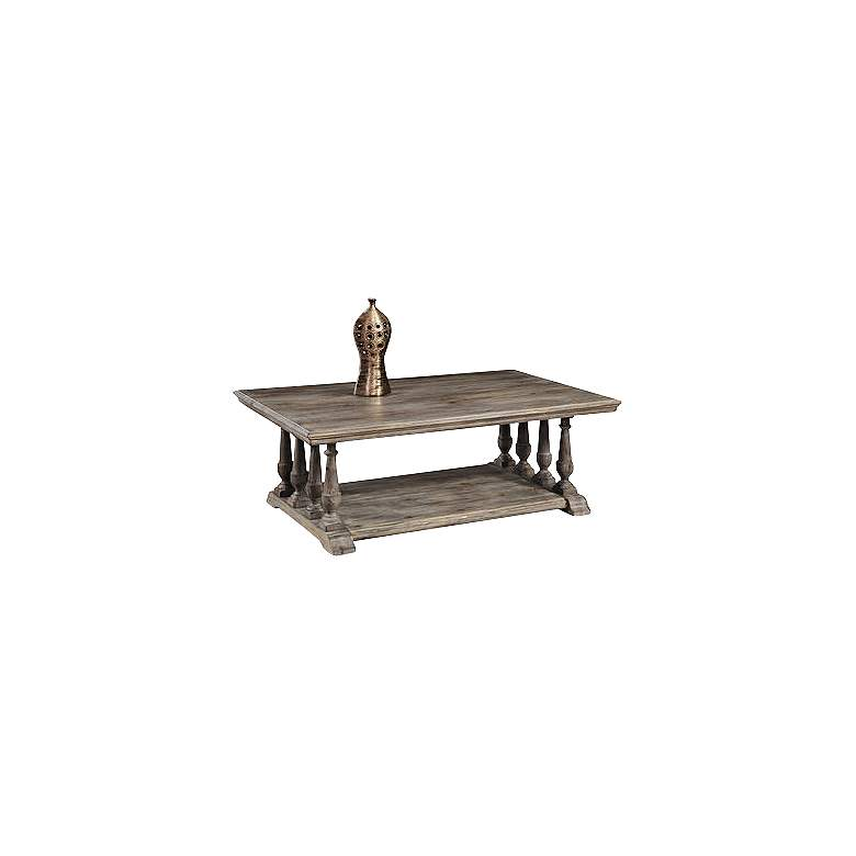 """Barnside 50"""" Wide Traditional Rectangular Cocktail Table"""