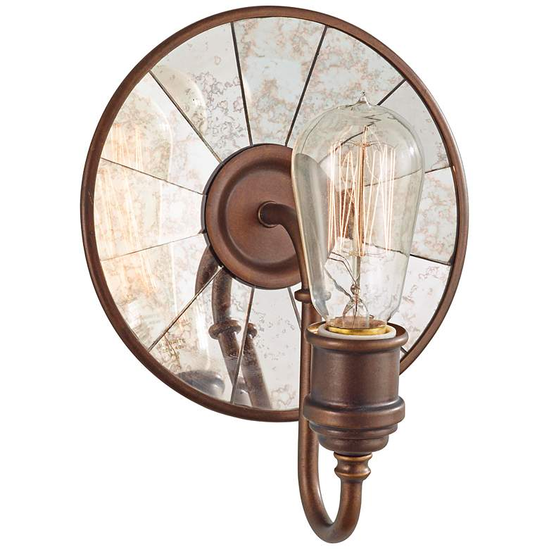"""Feiss Urban Renewal 9 3/4"""" High Astral Bronze Wall Sconce"""