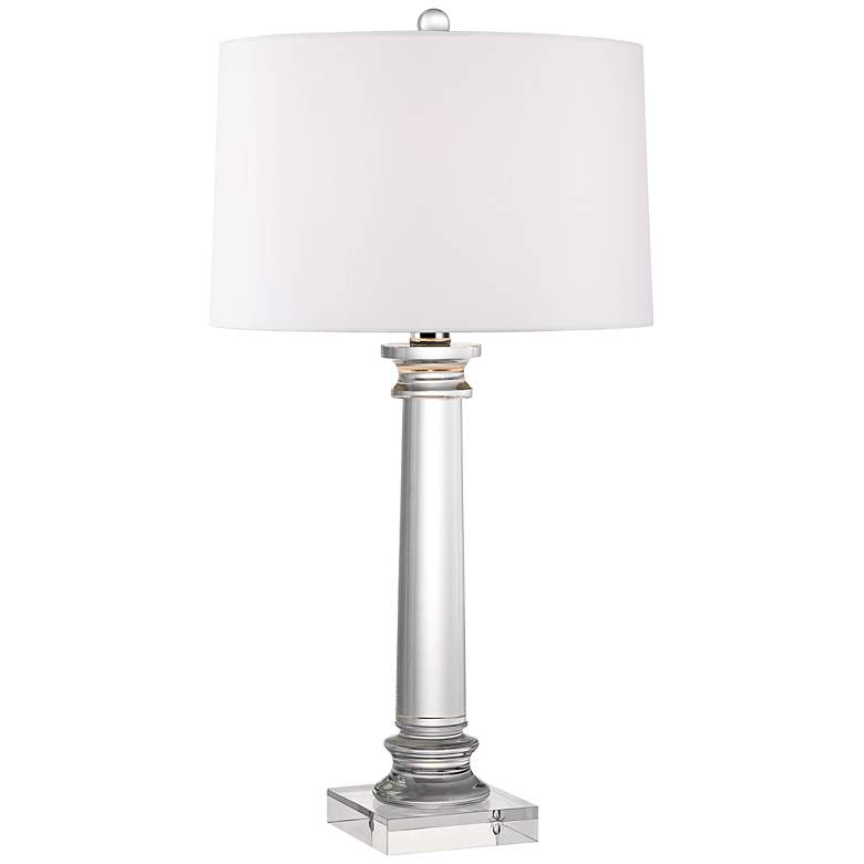 Vienna Full Spectrum Modern Crystal Column Table Lamp