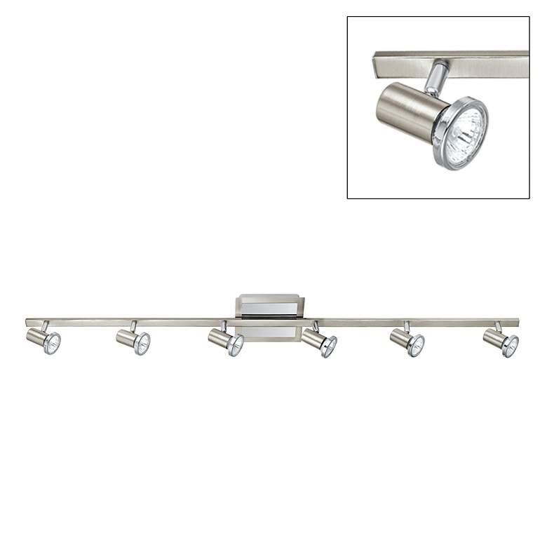 Eglo Rottelo Chrome - Nickel Six-Light Track Fixture