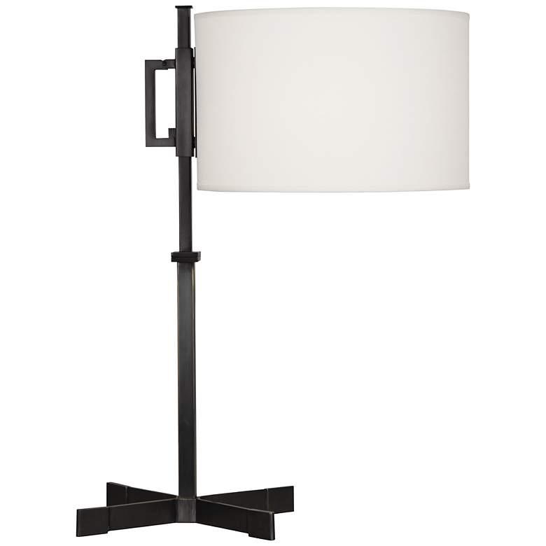 Robert Abbey Max Deep Patina Bronze Modern Desk Lamp