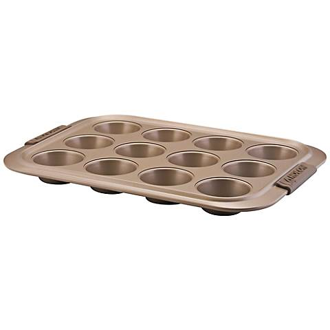 Anolon Bronze Bakeware 12-Cup Muffin Pan