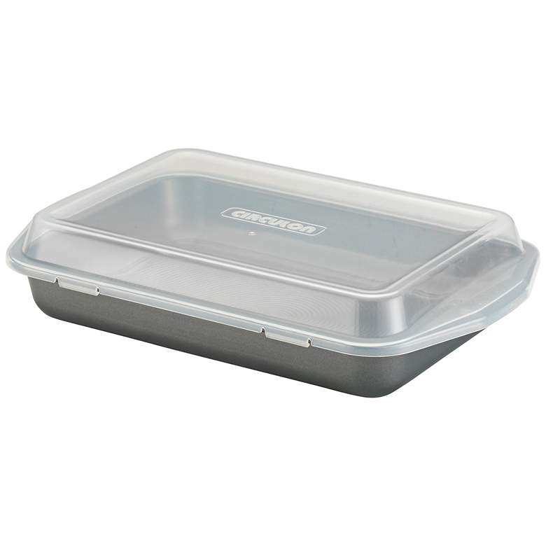 "Circulon Gray Carbon Steel 9"" by 13"" Bakeware Cake Pan"