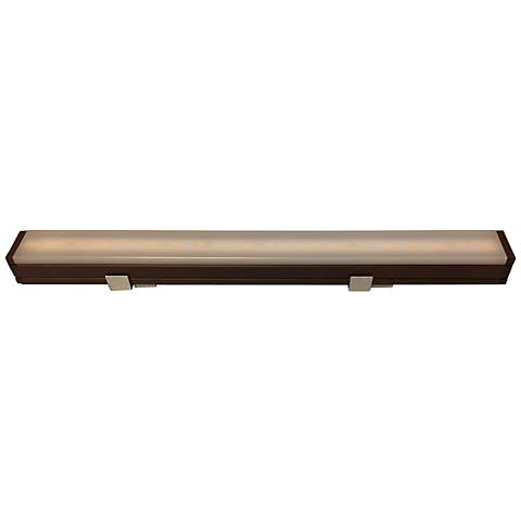 "Nora Bravo Bronze 8W LED 24"" Wide Under Cabinet Light"