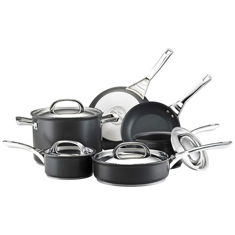 Circulon Infinite Black Aluminum 10-Piece Cookware Set