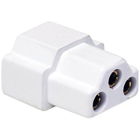 Nora Lighting NUA Series LED White End-to-End Connector