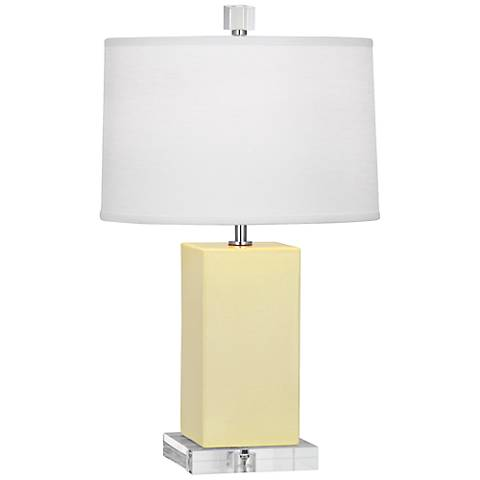 Robert Abbey Harvey 1Butter Glazed Ceramic Accent Lamp
