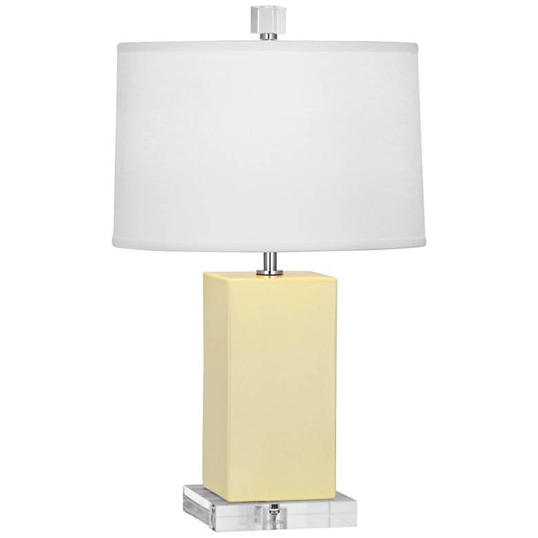 Robert Abbey Harvey 1Butter Glazed Ceramic Accent Lamp