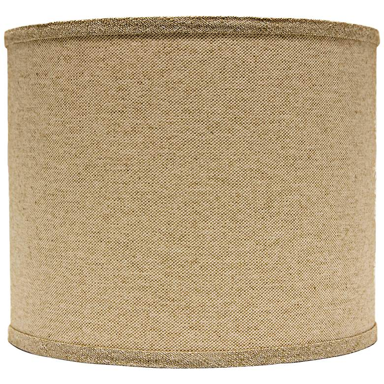 Neutral Heavy Basket Drum Lamp Shade 16x16x13 (Spider)