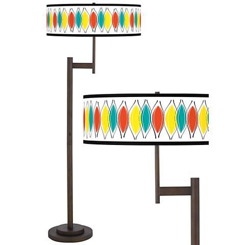 Harmonium Giclee Parker Light Blaster™ Bronze Floor Lamp