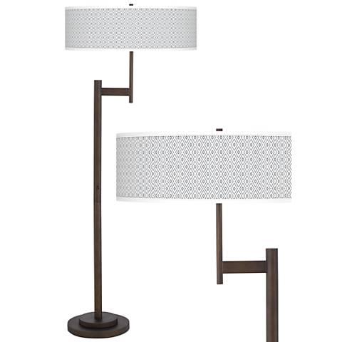Diamonds Giclee Parker Light Blaster™ Floor Lamp