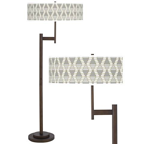 Stepping Out Giclee Parker Light Blaster™ Floor Lamp