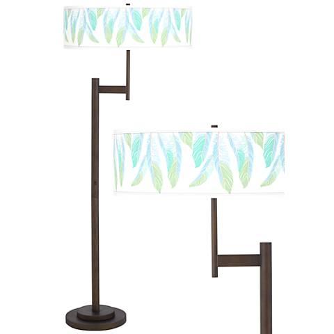 Light as a Feather Giclee Parker Light Blaster™ Floor Lamp