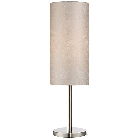 Lite Source Secia Polished Steel Modern Table Lamp