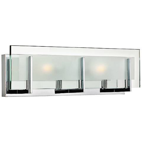 "Hinkley Latitude 18"" Wide Chrome Bath Light"