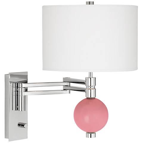 Haute Pink Niko Swing Arm Wall Lamp