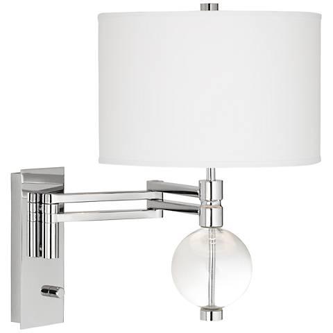 Niko Color Plus Swing Arm Wall Lamp