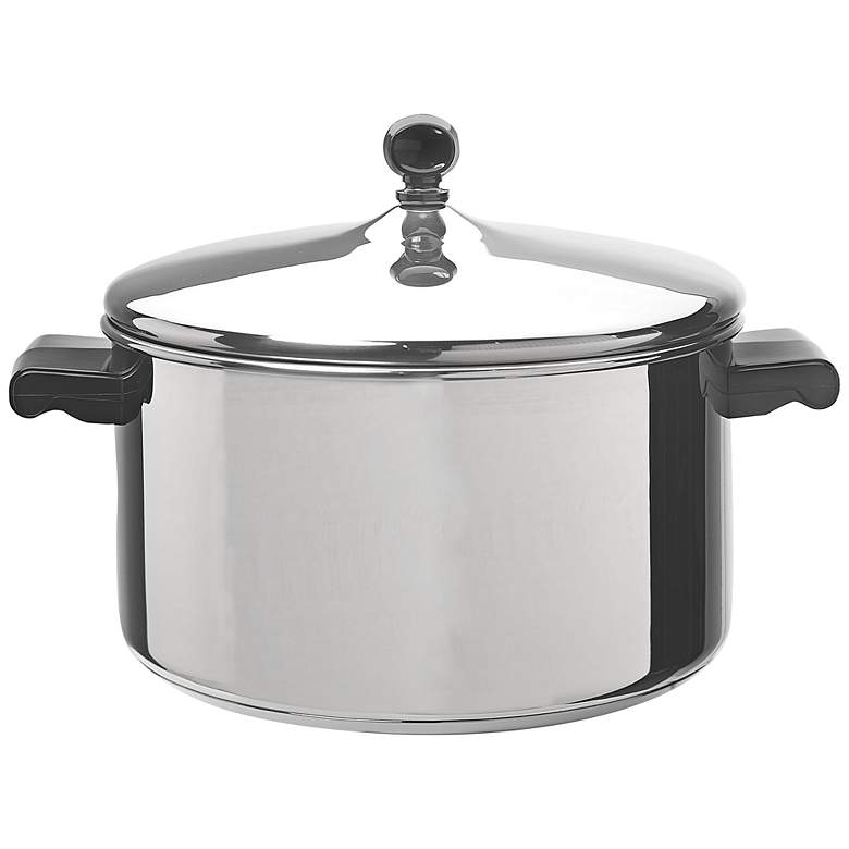 Farberware Classic Series Stainless Steel 6-Quart Stockpot