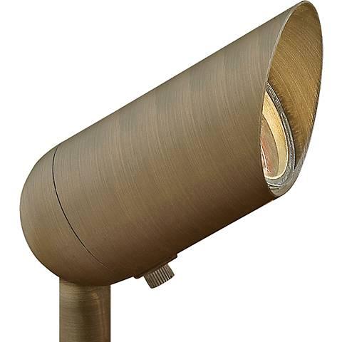 "Hinkley Hardy Island 3 1/4"" High Bronze Outdoor Spot Light"