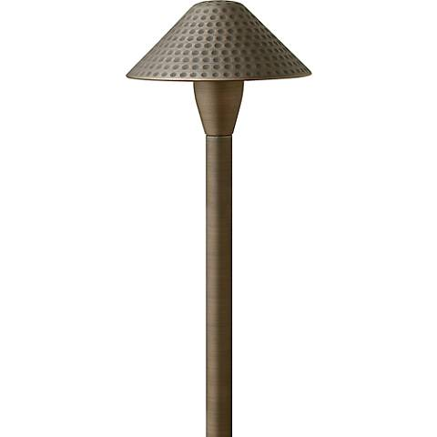 Hinkley Hardy Island Small Hammered Outdoor Path Light