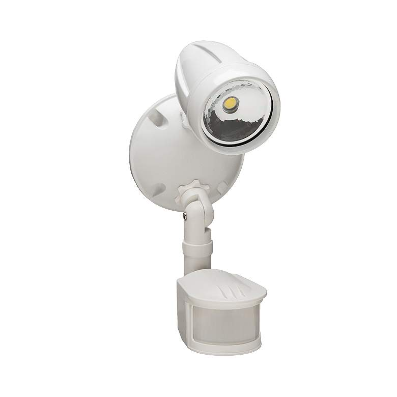 Hedley 1-Light White LED Motion Activated Security Light