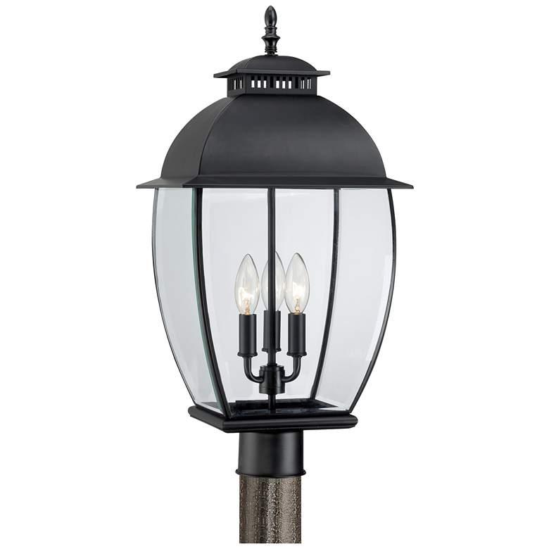 Quoizel Bain Mystic Black Large Outdoor Post Lantern