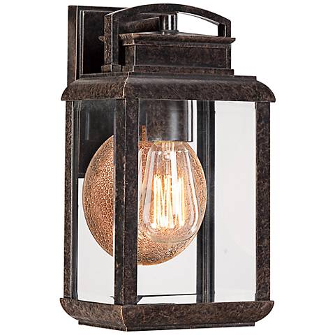 Quoizel Byron Imperial Bronze Small Outdoor Wall Lantern