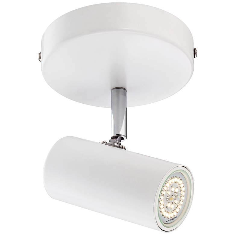 """Galena 8"""" Wide White Finish LED Track Fixture by Pro Track"""