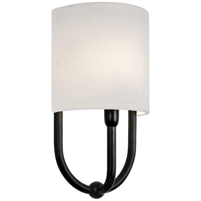 "Sonneman Intermezzo 13"" High Rubbed Bronze Sconce"