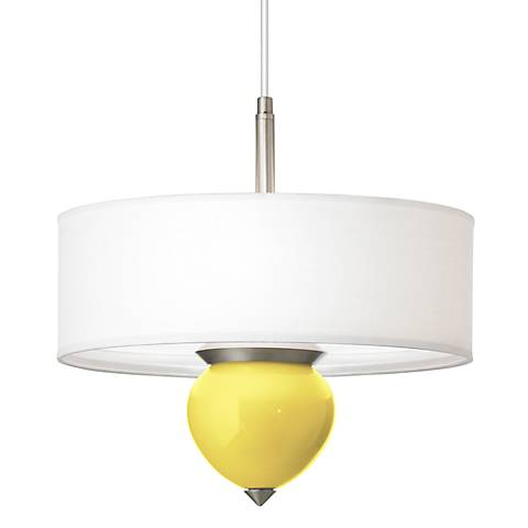 "Lemon Twist Cleo 16"" Wide Pendant Chandelier"