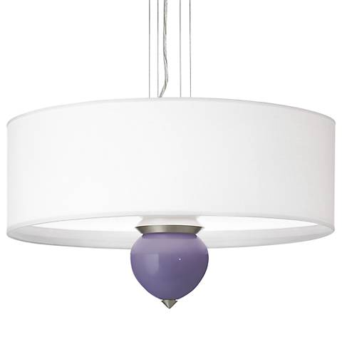 "Purple Haze Cleo 24"" Wide Pendant Chandelier"