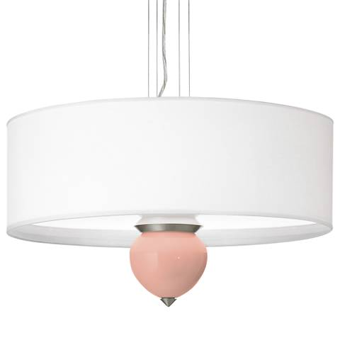 """Mellow Coral Cleo 24"""" Wide Pendant Chandelier"""