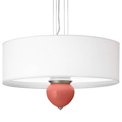 "Coral Reef Cleo 24"" Wide Pendant Chandelier"