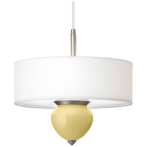 "Butter Up Cleo 24"" Wide Pendant Chandelier"