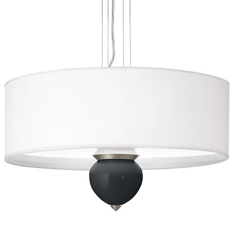 "Black of Night Cleo 24"" Wide Pendant Chandelier"