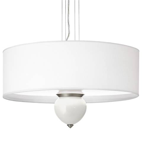 "Winter White Cleo 24"" Wide Pendant Chandelier"
