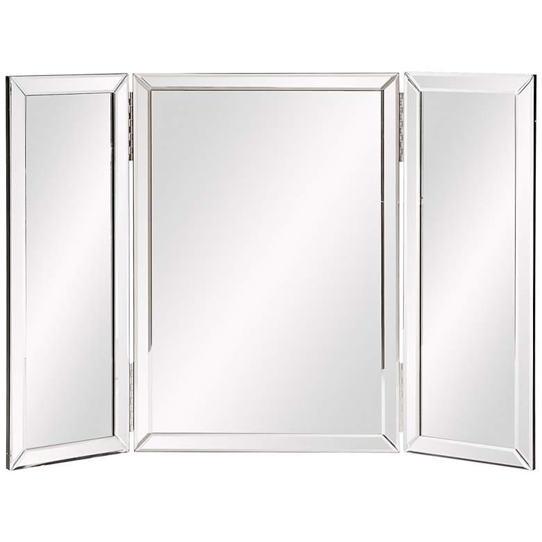"Howard Elliott 21"" x 31"" Tripoli Hinged Vanity Mirror"