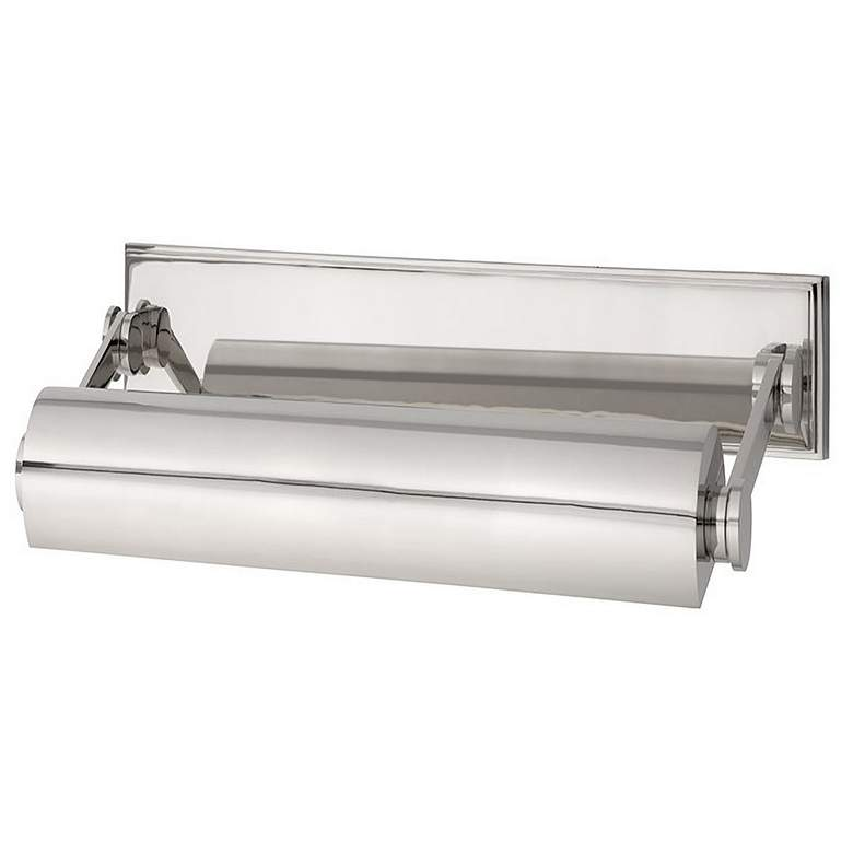 """Hudson Valley Merrick 10 1/2""""W Polished Nickel Picture Light"""