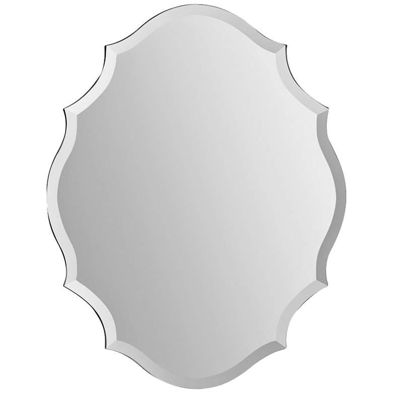 "Emma Frameless 22 1/4"" x 28"" Decorative Wall Mirror"