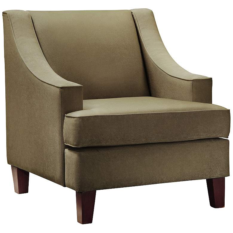 HomeBelle Madeon Taupe Armchair