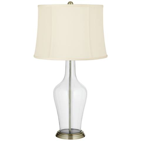 Clear Fillable Anya Table Lamp