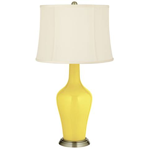 Lemon Twist Anya Table Lamp