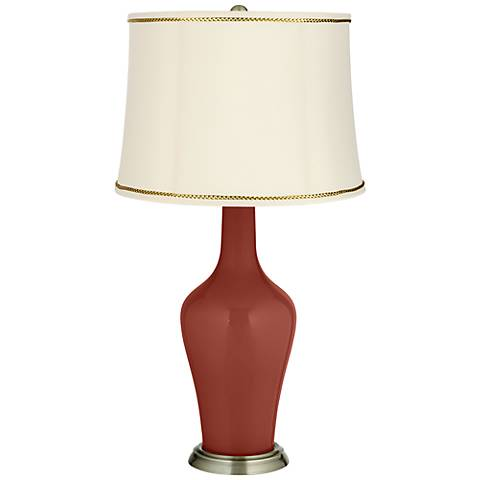 Madeira Anya Table Lamp with President's Braid Trim