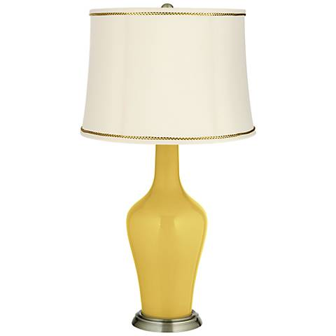 Nugget Anya Table Lamp with President's Braid Trim