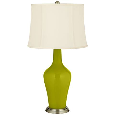Olive Green Anya Table Lamp