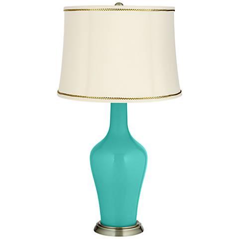 Synergy Anya Table Lamp with President's Braid Trim