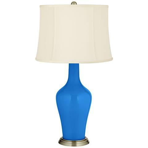 Royal Blue Anya Table Lamp