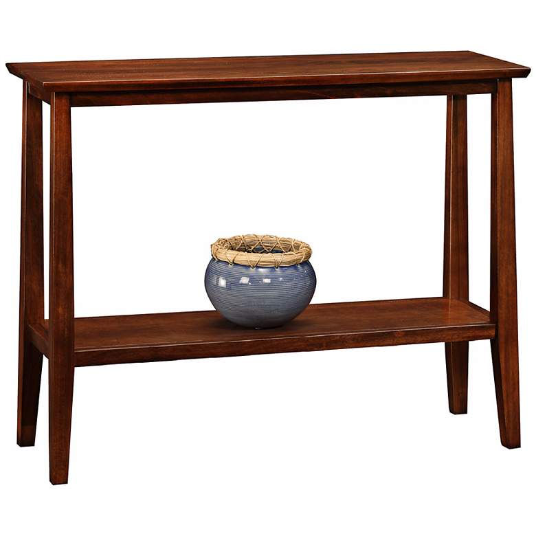 "Delton 38"" Wide Solid Wood Hall Stand Table"